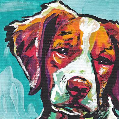 Spaniel Painting - So Britt by Lea S