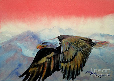Soaring Painting - Soaring High by Tracy Rose Moyers