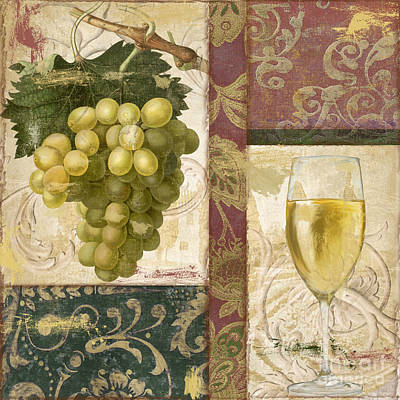 Wineglass Painting - Sofia II by Mindy Sommers