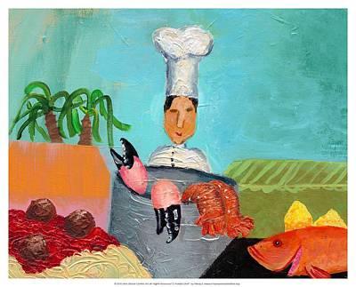 Soflo Chef Print by Empowered Creative Fine Art
