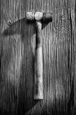 Hammer Photograph - Soft Face Hammer by YoPedro
