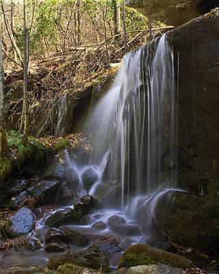 Waterfall Photograph - Soft Falls by Alan Raasch