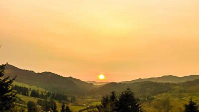 Oregon Photograph - Soft Sunrise by Pacific Northwest Imagery