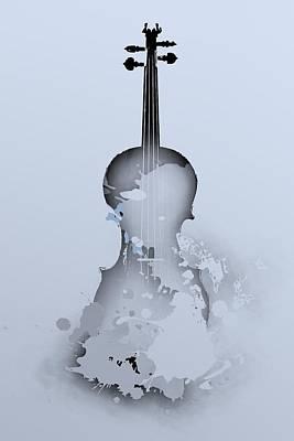 Violin Digital Art - Soft Violin by Alberto RuiZ