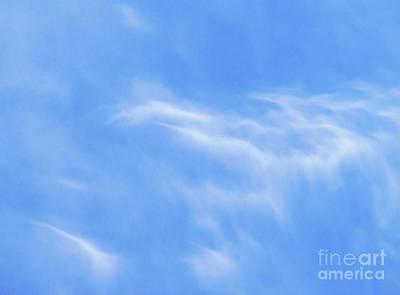 Abtract Digital Art - Softness Of Clouds by Terril Heilman