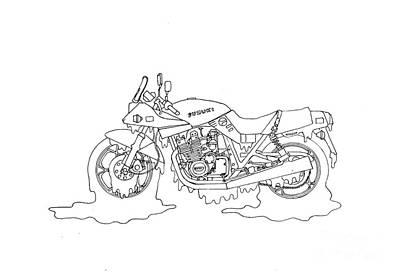 Soggy Suzuki Print by Stephen Brooks