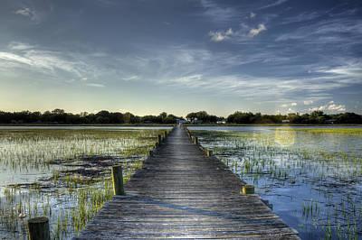 Sol Legare Dock Charleston Sc Original by Dustin K Ryan