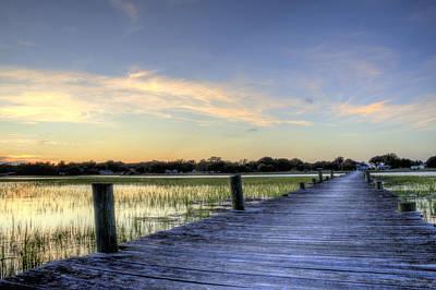 Dustin Photograph - Sol Legare Sunset by Dustin K Ryan