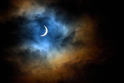 Solar Eclipse 2015 Print by Tim Haynes