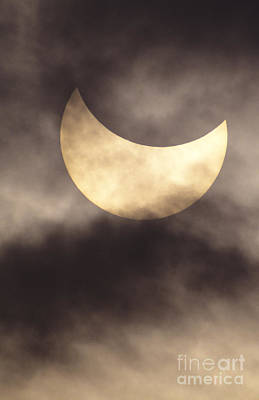Reggie Photograph - Solar Eclipse by Reggie David - Printscapes