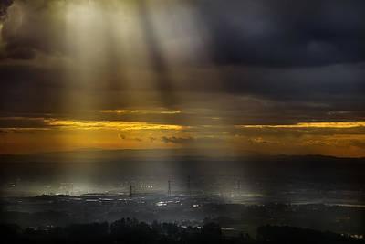 Light Rays Photograph - Solar Energy by Antonio Grambone