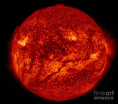 Heavenly Body Photograph - Solar Filament by Science Source