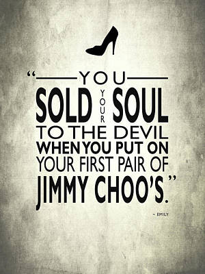 Movie Poster Photograph - Sold Your Soul To The Devil by Mark Rogan