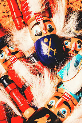 Handcrafted Photograph - Soldier Dolls From A Tradition Past  by Jorgo Photography - Wall Art Gallery