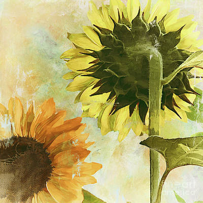 Soleil II Print by Mindy Sommers