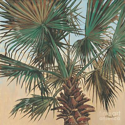 Palmettos Painting - Solitary Palm by Paul Brent