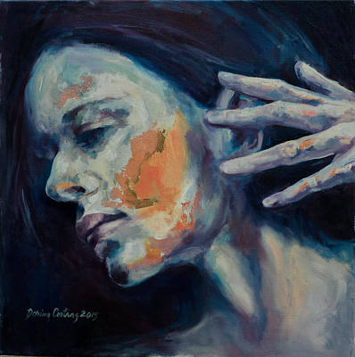 Solitary Silent Print by Dorina  Costras