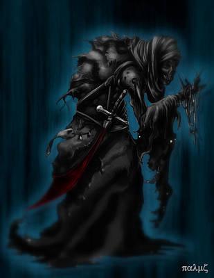 Solitiary Reaper Print by Rahul Chakraborty