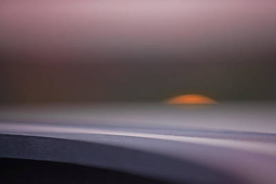 Sunset Abstract Photograph - Solo by Hilde Ghesquiere