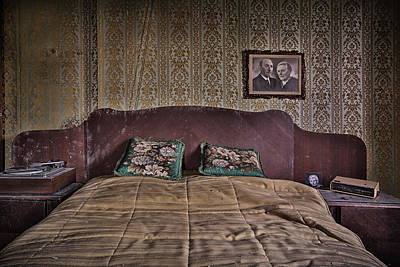 Abandoned Homes Photograph - Somebody Is In Our Bedroom Taking Pictures by Dirk Ercken