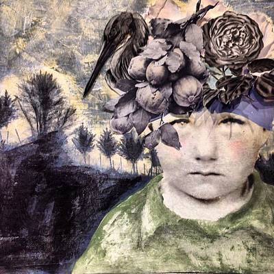 Mixed Media - Someone Else's Memory by Susan McCarrell