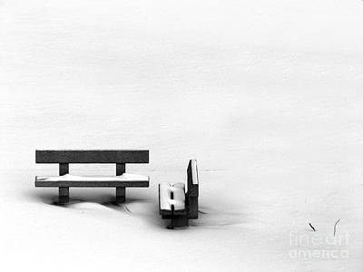 Benches Photograph - Someone To Hear You When You Sigh by Dana DiPasquale