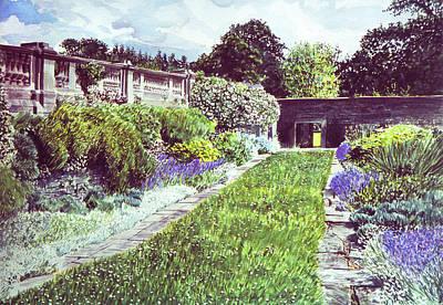 Somerset Garden Print by David Lloyd Glover