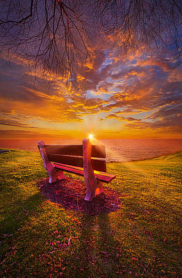 Heaven Photograph - Sometimes I Feel Like A Sad Song by Phil Koch
