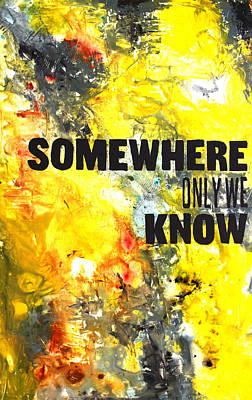 Somewhere Only We Know Original by Ivan Guaderrama