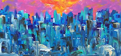 Painting - Somewhere West by Mac Worthington