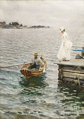 Zorn Painting - Sommer Vergnugen by Pg Reproductions