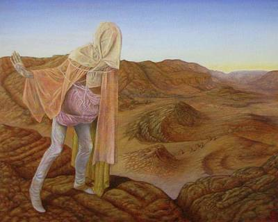 Mystic Desert Painting - Son Of Kronos by Kevin Campeau Art