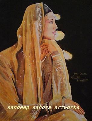 Orlando Bloom Drawing - Sonali Bendre by Sandeep Kumar Sahota