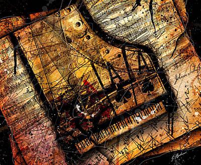 Sonata In Ace Minor Print by Gary Bodnar