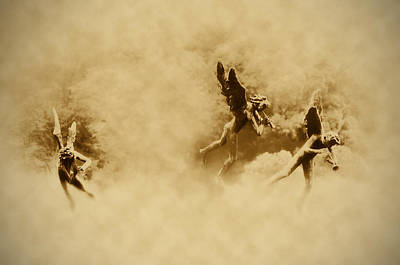 Angels Photograph - Song Of The Angels In Sepia by Bill Cannon