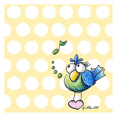 Songbird Print by Kim Niles