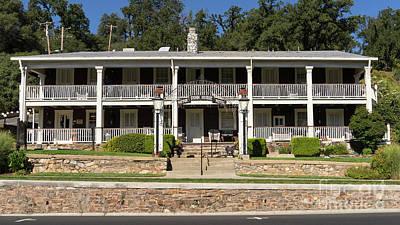 49er Photograph - Sonora California Gunn House Motor Hotel Dsc4589 by Wingsdomain Art and Photography