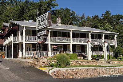 49er Photograph - Sonora California Gunn House Motor Hotel Dsc4591 by Wingsdomain Art and Photography