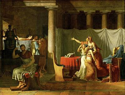 Sons Of Brutus  Original by Jacques Louis David