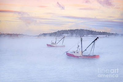 Lubec Photograph - Soon As The Morning Comes by Evelina Kremsdorf