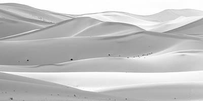 Sand Photograph - Soothing Desert by Hitendra SINKAR