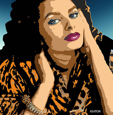 Digital Art - Sophia by John Keaton