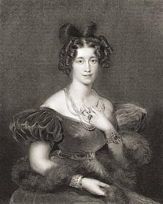Jordan Drawing - Sophia Sidney, Baroness De L Isle by Vintage Design Pics