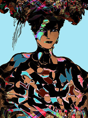 Sophisticated Woman Print by Natalie Holland
