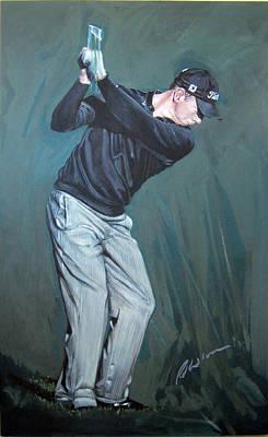 News Painting - Soren Hansen by Mark Robinson