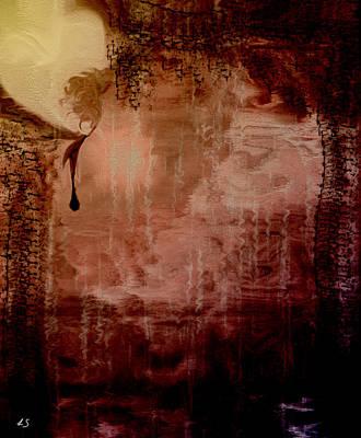 Sorrow Print by Linda Sannuti