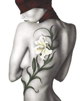 Sorrow Print by Pat Erickson