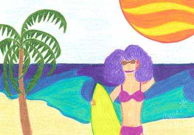 Summer Drawing - Sorry I Cannot Make It Today by Geree McDermott