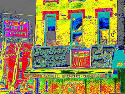 Harlem Digital Art - Soul Food by Steven Huszar