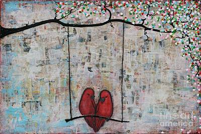Painting - Soul Mates by Natalie Briney